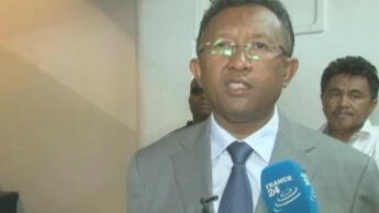 Hery Rajaonarimampianina est considéré comme le poulain du président par intérim Andry Rajoelina