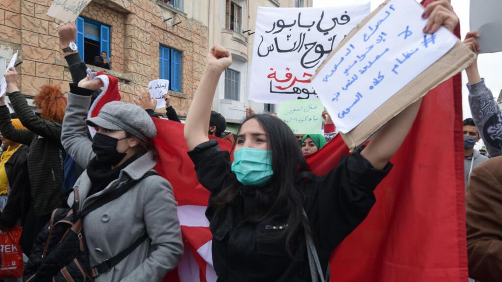 Tunisie : nouvelles manifestations contre la répression, le couvre-feu prolongé