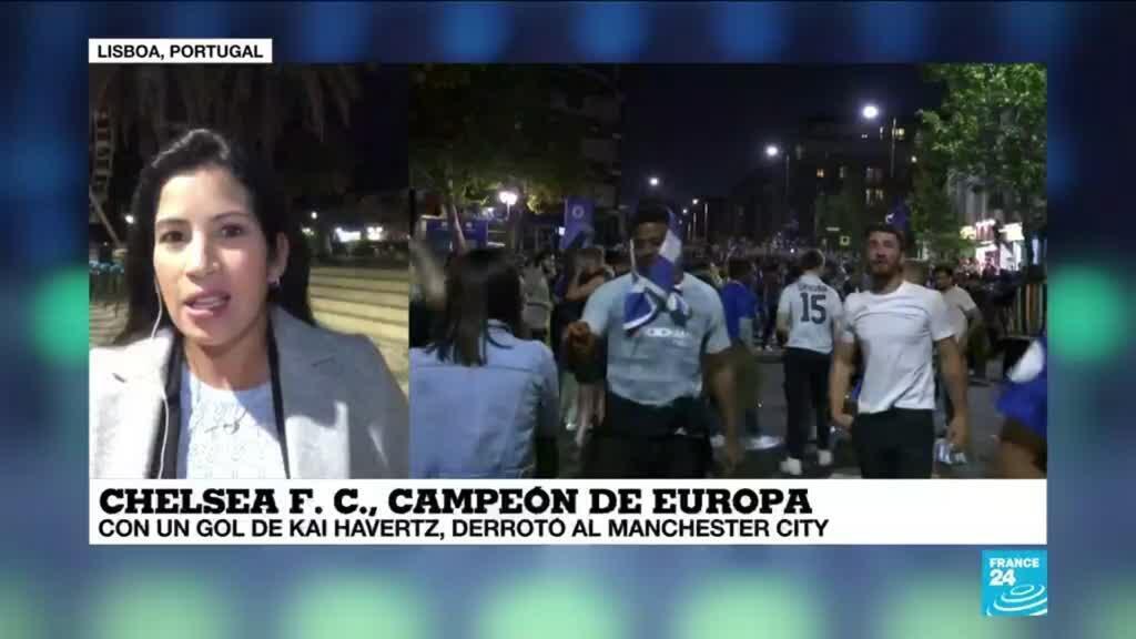 2021-05-30 01:08 Informe desde Lisboa: el Chelsea se consagró campeón de la Champions League ante el Manchester City