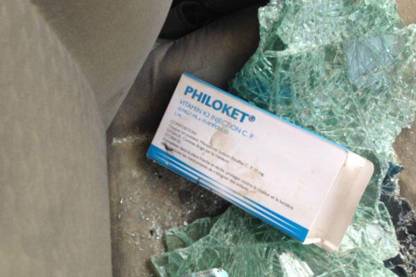 Médicament retrouvé dans voiture de Boko Haram