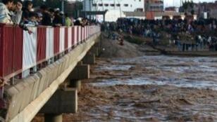 فيضانات وسيول في أكادير 29 تشرين الثاني/نوفمبر 2014