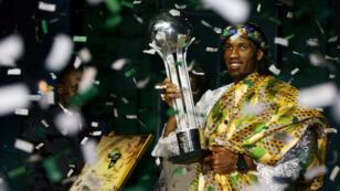 L'Ivoirien Didier Drogba sacré meilleur joueur africain en 2006.