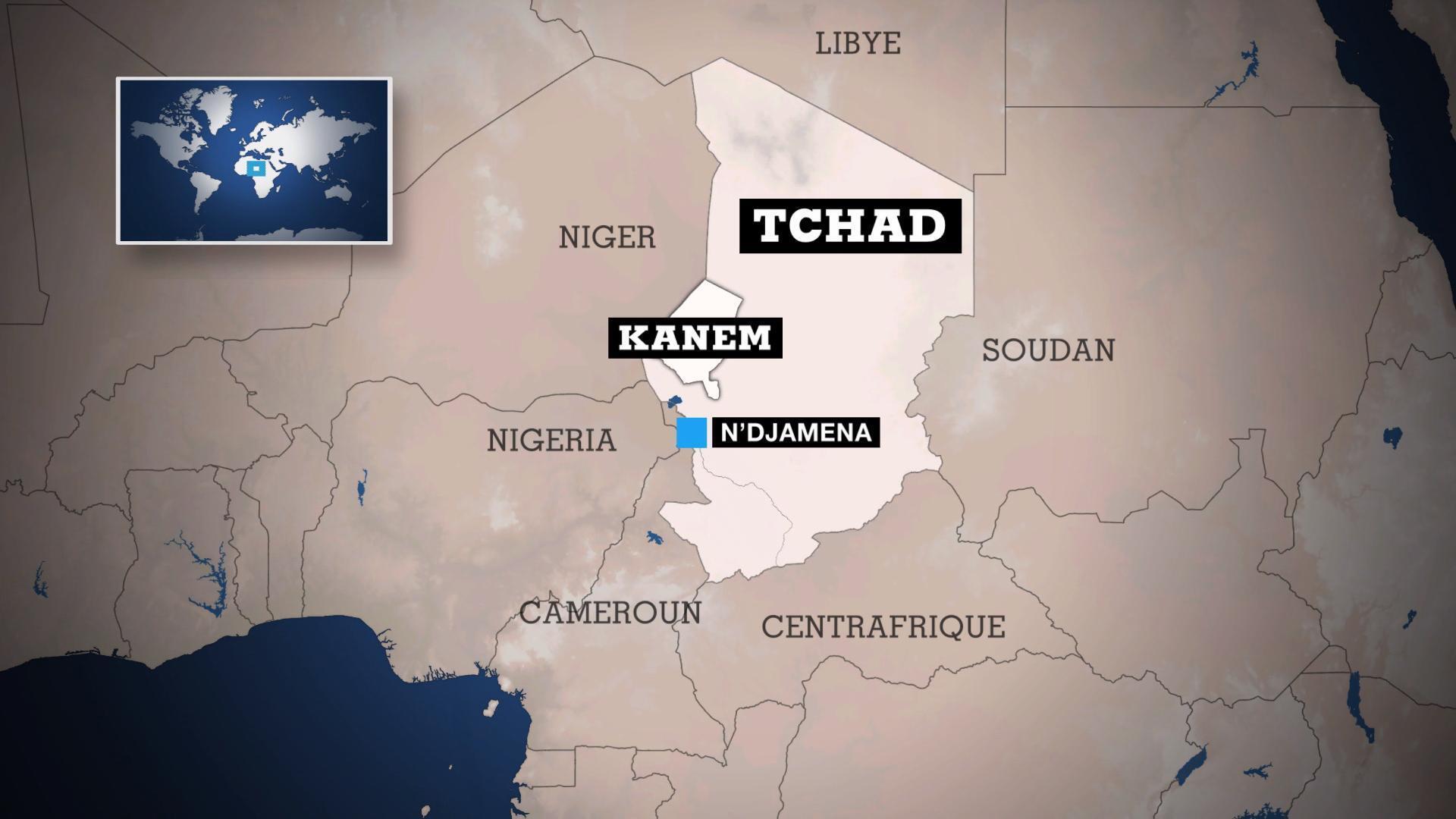 Dans l'ouest du Tchad les combats continuent entre armée et rebelles
