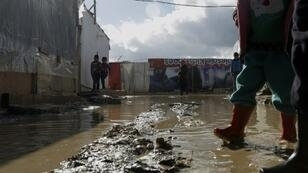Many Syrian refugees in Lebanon live under squalid conditions in informal refugee camps