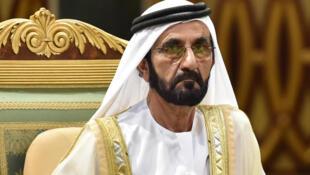 الشيخ محمد بن راشد آل مكتوم حاكم إمارة دبي.