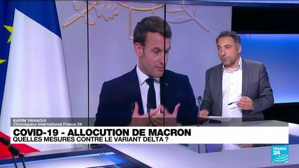2021-07-12 13:03 Allocution d'Emmanuel Macron : quelles mesures contre le variant Delta ?