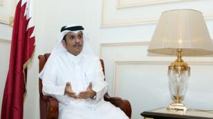 وزير خارجية قطري الشيخ محمد بن عبد الرحمن آل ثاني