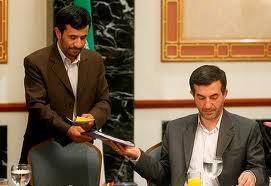 Mashaie et Ahmadinejad (Crédit photo : le compte Facebook de Mashaie).