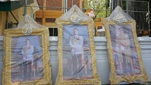Imposing new images of King Maha Vajiralongkorn, some several-metres high, and decorations are mandatory at every state office ahead of his three-day coronation