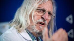 Le professeur Didier Raoult à Marseille, le 3 juin 2020