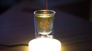 Cette imprimante 3D est capable d'imprimer du liquide.