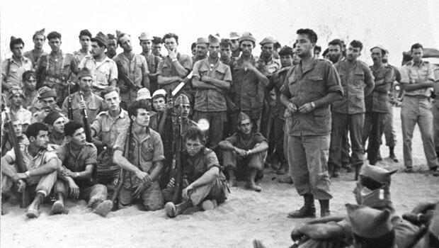 L'Unité 101, le 30 août 1955