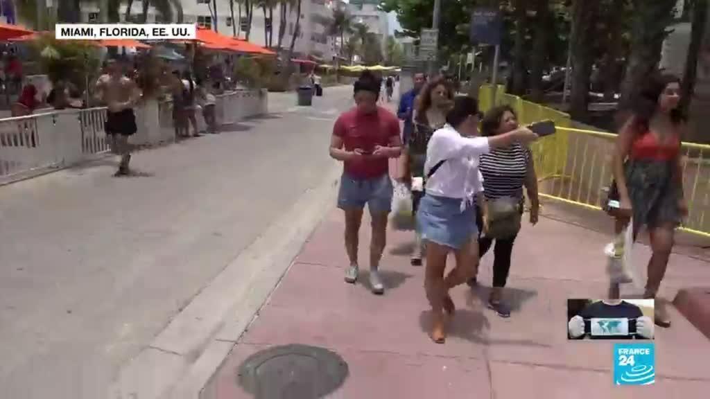 2021-05-28 14:40 Latinoamericanos viajan a Florida, Estados Unidos, para recibir la vacuna del Covid-19