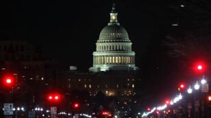 Le Capitole, à Washington, aux premières heures du 9 février 2018.