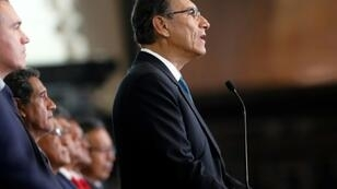 Peruvian President Martin Vizcarra has survived a vote of confidence in the country's opposition-controlled Congress