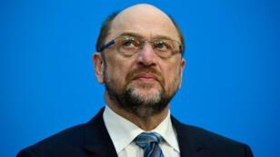 Le chef du Parti social-démocrate (SPD) Martin Schulz était très critiqué, dans son camp, pour avoir revendiqué le poste de ministre des Affaires étrangères.