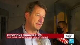 2020-06-28 22:18 Municipales 2020 : Intervention de Yannick Jadot, EELV