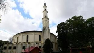 المسجد الكبير في بروكسل في 03 تشرين الأول/أكتوبر 2017