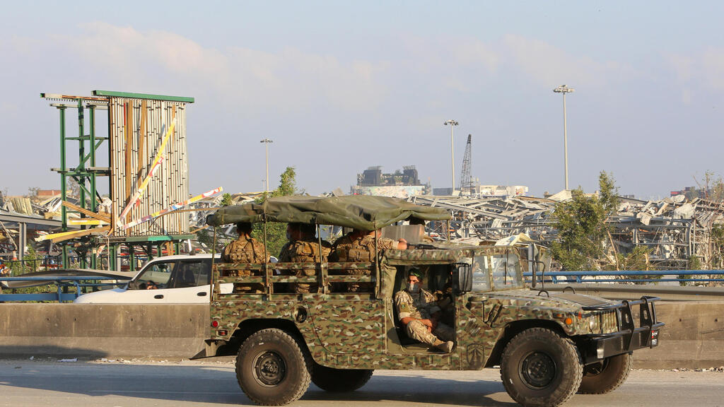 Lebanon's military gets sweeping new powers amid anger over Beirut explosion