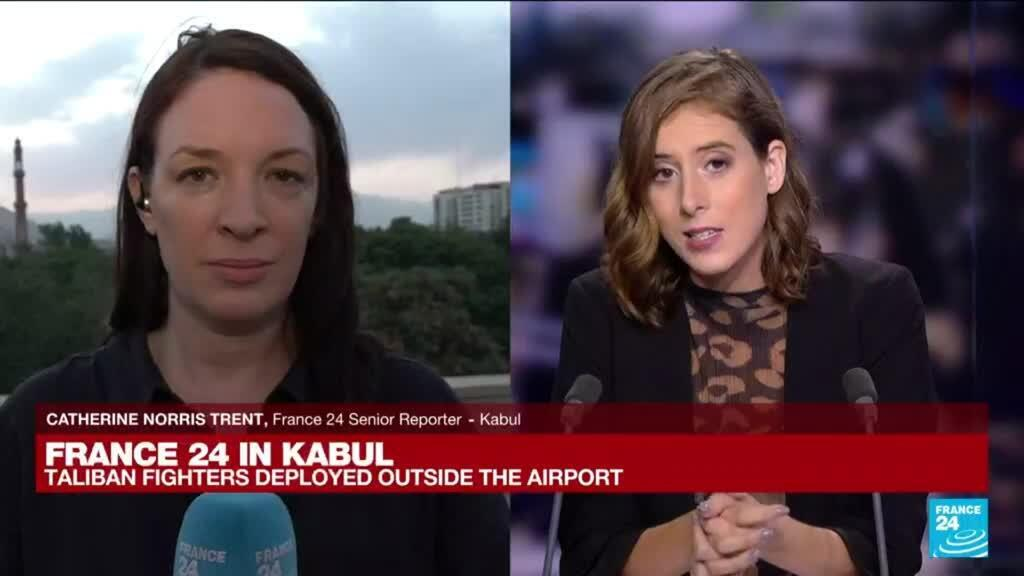 2021-08-23 16:03 FRANCE 24 in Kabul: Uncertainty in the capital although peace prevails
