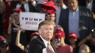 Donald Trump lors d'un meeting en Pennsylvanie, le 30 mai 2019.