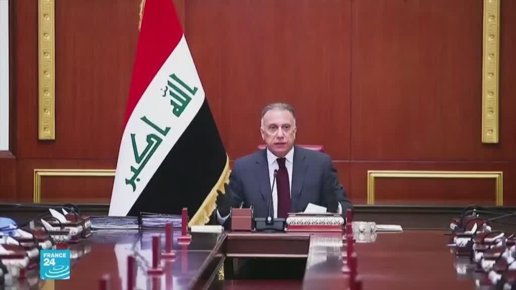 رئيس الحكومة العراقي مصطفى الكاظمي.