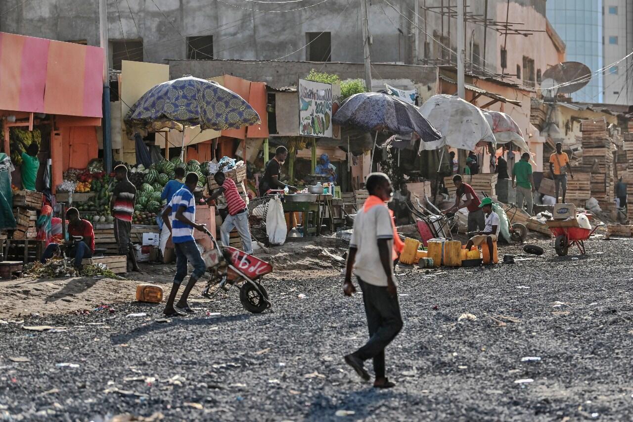 Djibouti market street