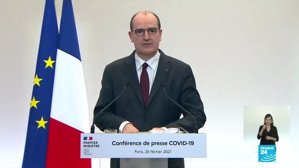 UK variant accounts for 'about half' of France's Covid-19 cases, PM says