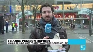 2020-01-09 11:09 France pension reform: Country braces for major rallies, more transport disruptions