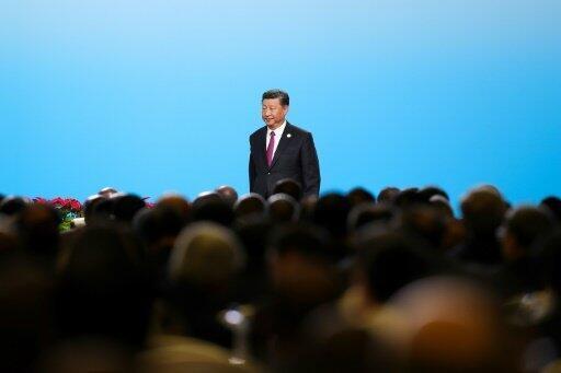 الرئيس الصيني شي جينبينغ يحضر حفل افتتاح الحوار الرفيع المستوى بين قادة أفارقة وممثلي قطاعي الأعمال والصناعة في بكين في 3 أيلول/سبتمبر 2018