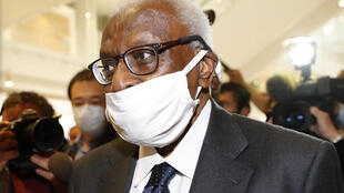 Lamine Diack again told his corruption trial that he had no idea what his son was up to