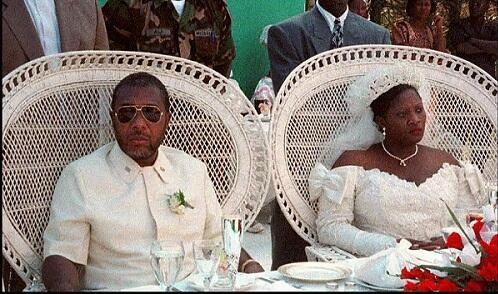 Charles Taylor and Jewel got married on the 28th of January 1997 in the central Liberian town of Gbarnga.