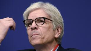 L'ancien chef économiste de la Banque mondiale, Paul Romer, le 31 janvier 2017, à Paris.