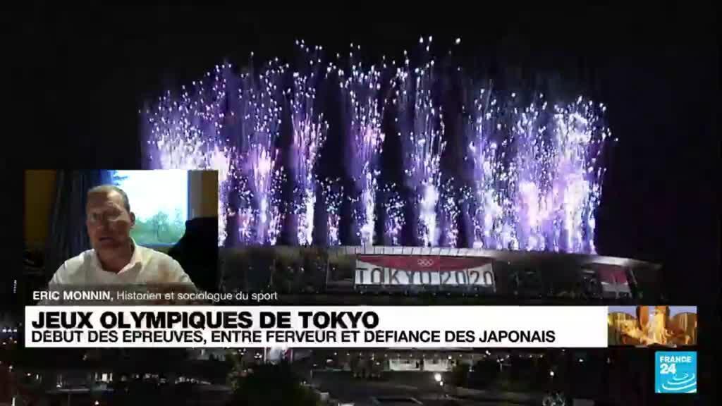 2021-07-24 11:01 En pleine pandémie, les Jeux Olympiques de Tokyo se tiennent à huis clos