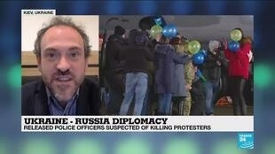 2019-12-30 07:08 Prisoner swap deal seen as 'real attack on credibility of Ukraine justice system'