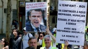 """متظاهرون من """"السترات الصفراء"""" في باريس. 1 يونيو/حزيران 2019."""