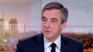 François Fillon, dimanche soir, sur le plateau du 20 heures de France 2.