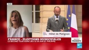 2020-05-22 13:01 Le second tour des municipales aura lieu le 28 juin, annonce Édouard Philippe