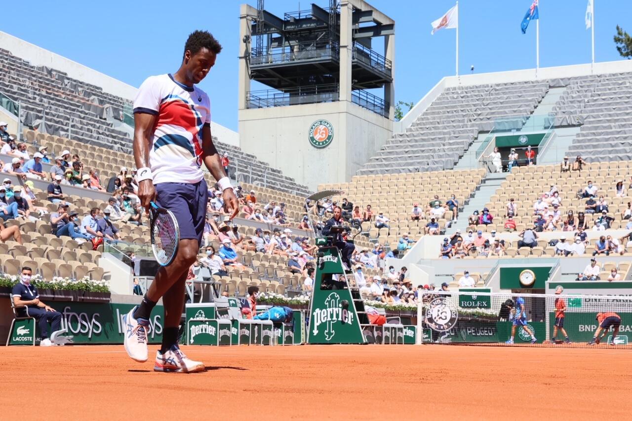 Gael Monfils Roland-Garros