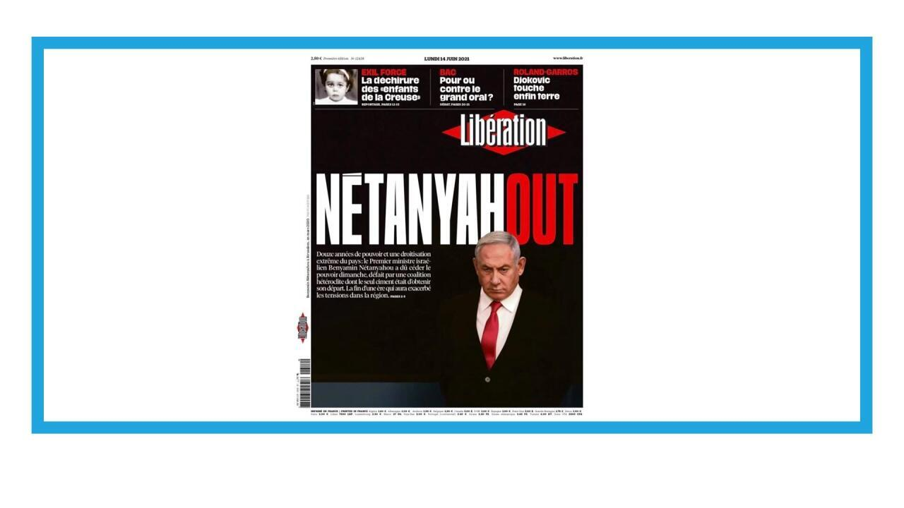 Le Premier ministre israélien sortant Benyamin Netanyahou