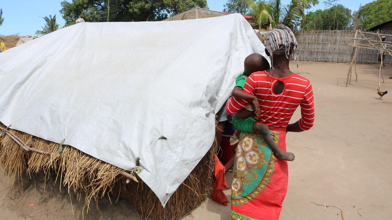 mozambique displaced