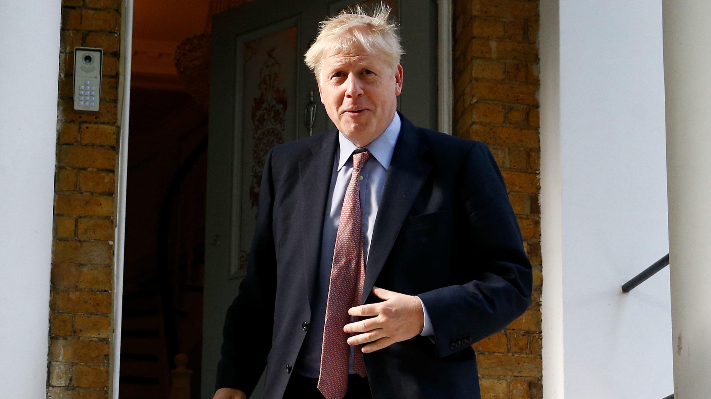 Boris Johnson, exministro de Exteriores de Reino Unido.
