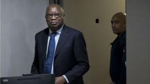 Laurent Gbagbo, premier ex-chef d'État jugé par la CPI lors de l'ouverture de son procès en janvier 2016.