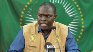 Le maire de Dakar Khalifa Sall en 2011.