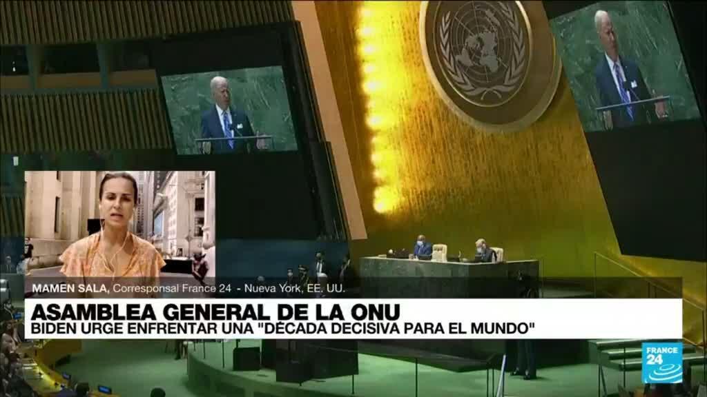 2021-09-21 22:01 Informe desde Nueva York: así arrancó la Asamblea General de la ONU