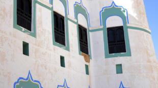 Le palais de Seyoun  dans la province de l'Hadramaout au Yémen, le 15 octobre 2020
