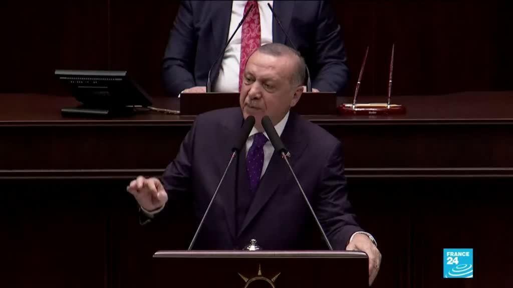 2020-02-06 10:11 Syrie : Recep Erdogan renouvelle ses menaces à l'égard du régime de Bachar al-Assad