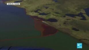 2020-06-10 10:12 Pollution en Arctique : des hydrocarbures atteignent un lac en Russie