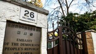 سفارة كوريا الشمالية في روما. 03 كانون الثاني/يناير 2019.