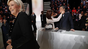 """Marine Le Pen contre François Fillon : tel serait le duel au second tour d'après l'algorithme """"Predict the president""""."""